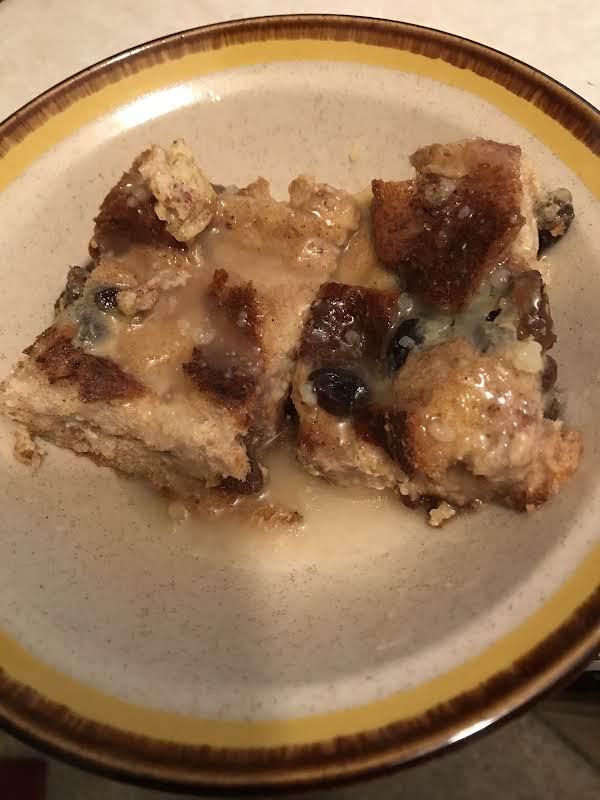 Grandmas Old Fashioned Bread Pudding