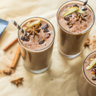 Dirty Chai Protein Shake.