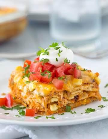 Mexican Lasagna - Cooking Classy