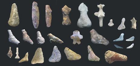 Photo: earliest mehrgahr figurines