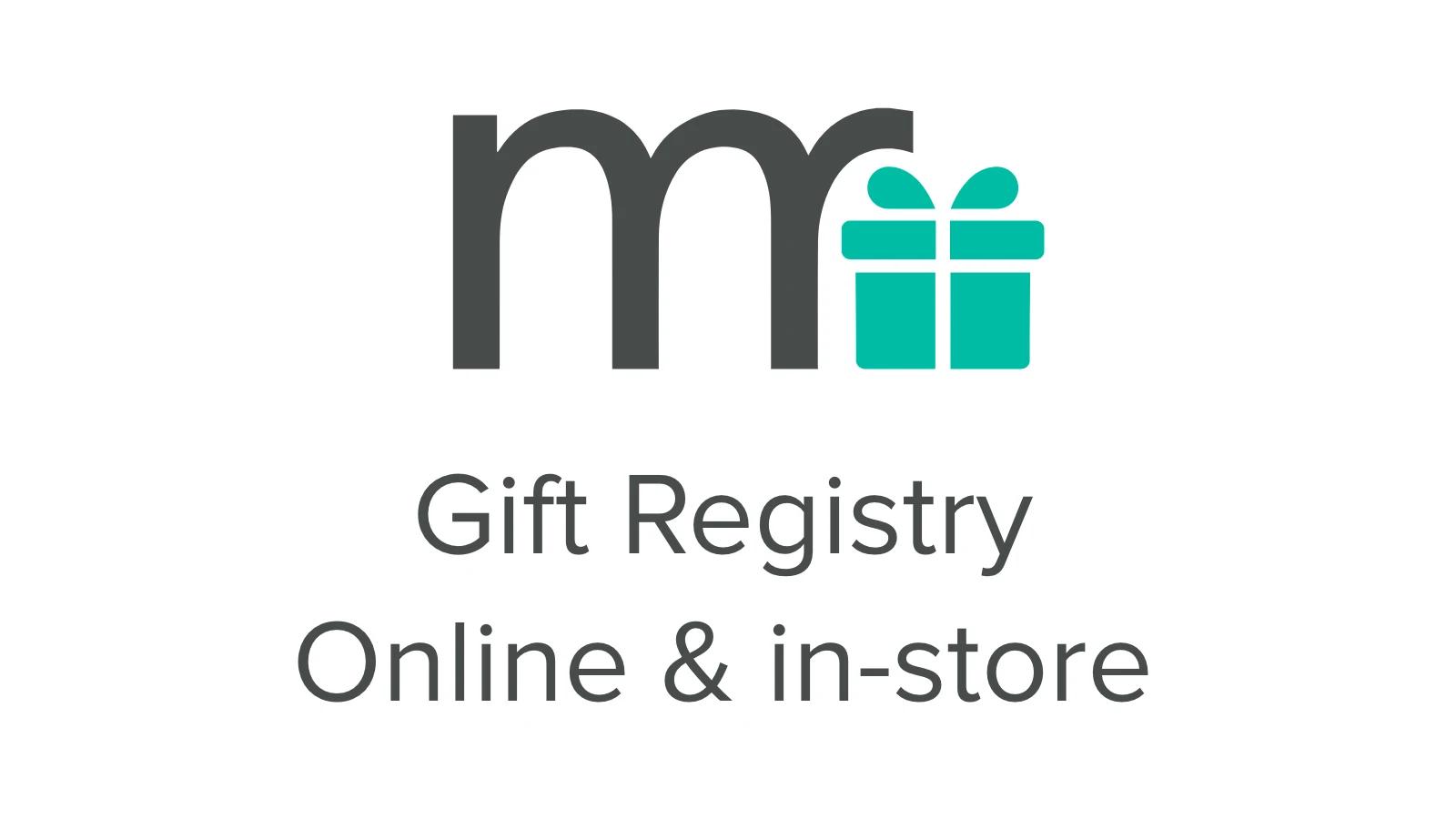 gift registry online