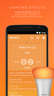 Splyce music player & automix Screenshot