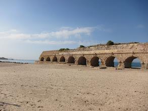Photo: Roman aqueduct to Caesaria