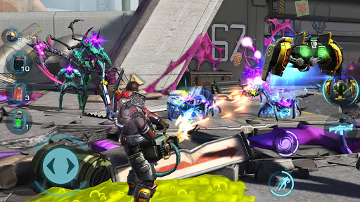 Evolution 2: Battle for Utopia. Shooting games apktram screenshots 7