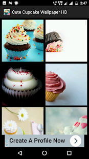 Cute Cupcake Wallpaper HD - náhled