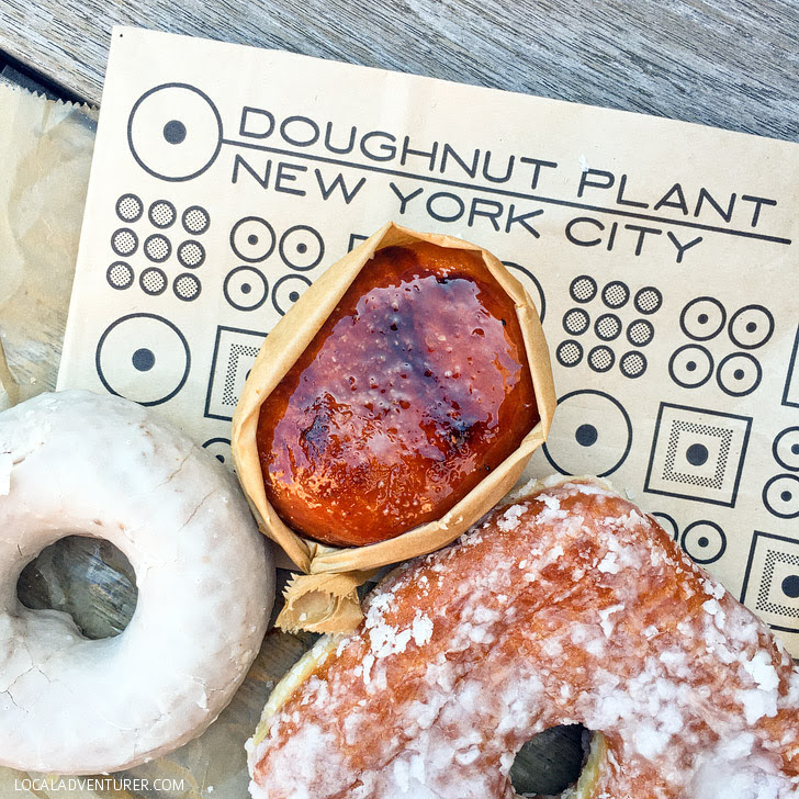 Doughnut Plant (Ultimate NYC Food Bucket List - 49 Places to Eat in NYC).