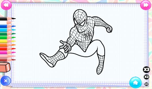 Süper Kahraman Boyama Google Playde Uygulamalar