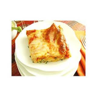 Easy Cheese Lasagna.