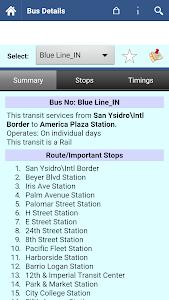 San Diego MTS Info screenshot 4