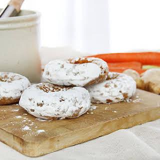 Ginger Carrot Doughnuts.