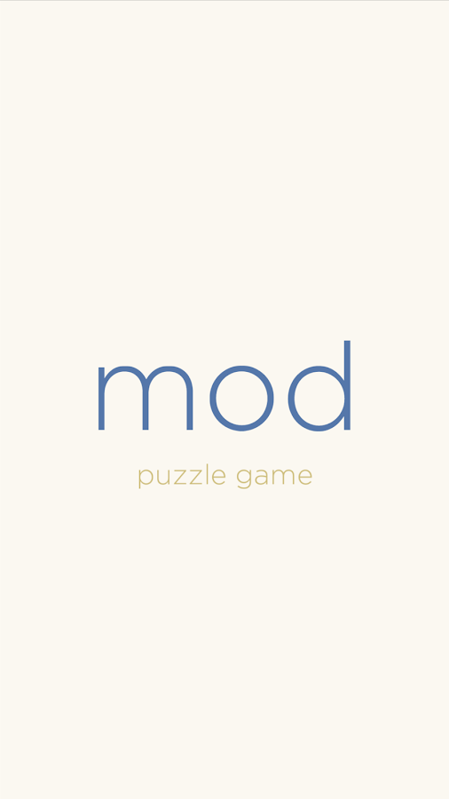 mod puzzle game- screenshot