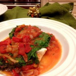 Italian Sole Wrapped in Swiss Chard