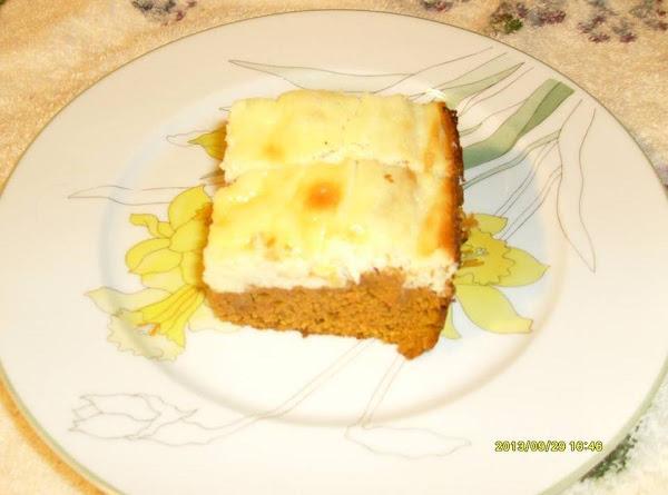 Layered Pumpkin Cream Cheese Cake Recipe