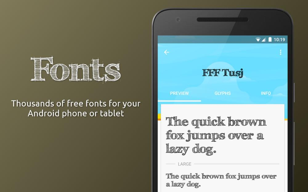 FontFix ― Install Free Fonts- screenshot