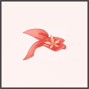 血楓の襟巻