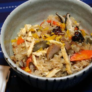 Hearty Mid-winter Salt Pork Mochi Rice Okowa