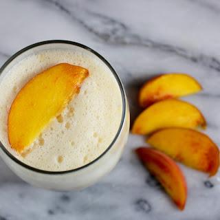 Summer Peach Smoothie!.
