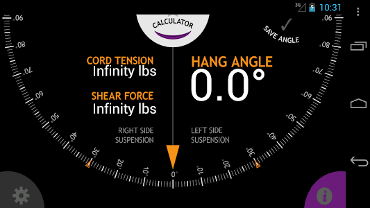 Hammock Hang Calc screenshot 1