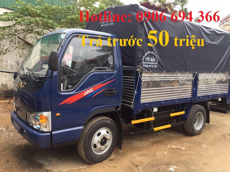 Đại lý bán xe tải 2 tấn 5 - 2.5 tấn - 2T5 máy cn isuzu vào được thành phố ban ngày