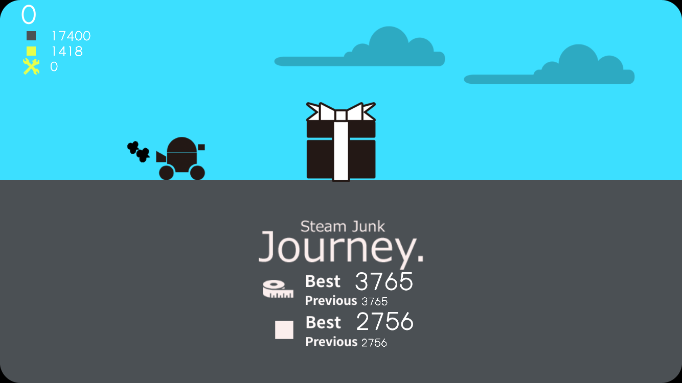 Steam Junk:Journey.- screenshot