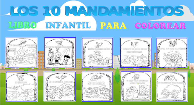 Download LOS 10 MANDAMIENTOS PARA COLOREAR APK latest version game ...