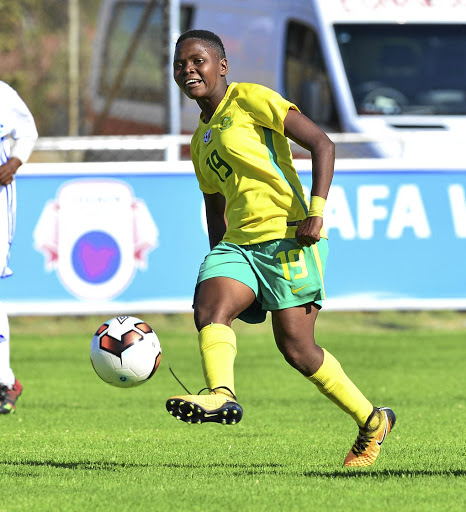 STAR PLAYER: 28-year-old ex-Mamelodi Sundowns forward Rhoda Mulaudzi has joined Australian side Canberra United on a season-long contract