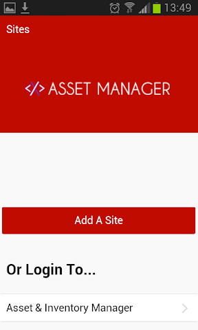 android Asset & Inventory Tracker Screenshot 0