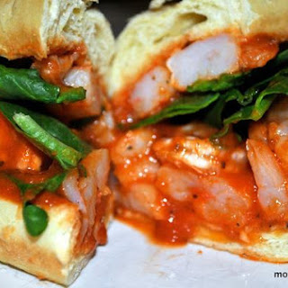 Make It Quick Italian Shrimp Rolls