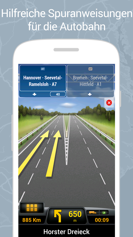 CoPilot Truck GPS – Screenshot