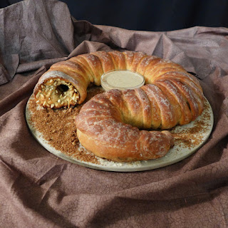 Spice Stuffed Sandworm Bread