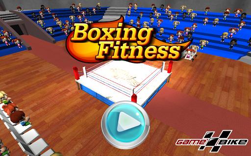 拳擊健身 藍牙互動式健身車版