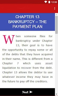 Bankruptcy Recovery Guide- screenshot thumbnail