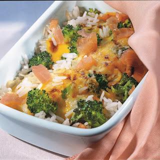 Broccoli-Reis-Gratin