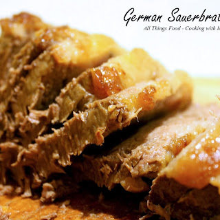 German Sauerbraten Roast