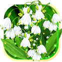Lilies Valley May Live Wallpaper icon