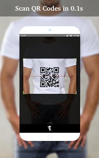 QR Code Scanner - QR code reader and Generator screenshots 1
