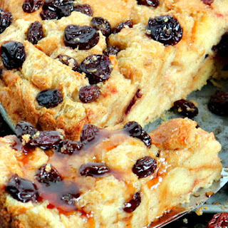 Cherry Vanilla Pudding Cake