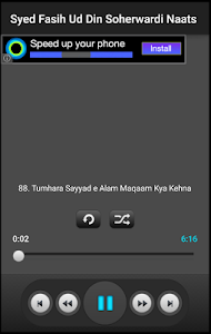 Fasihuddin Soharwardi Naatain screenshot 2