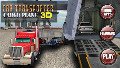 カートランスポーター貨物機の3D