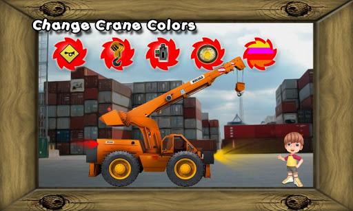 Truck Crane Kids Toy