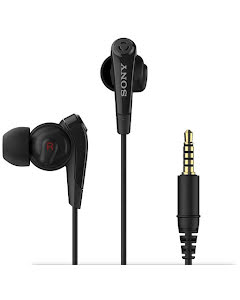 Sony in-ear headset Black