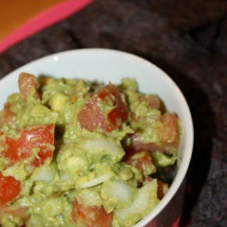 The Best Homemade Guacamole.