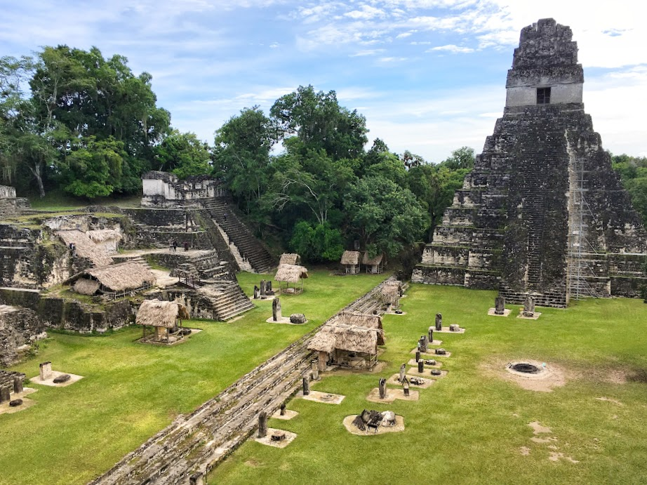 Tikal before the crowds