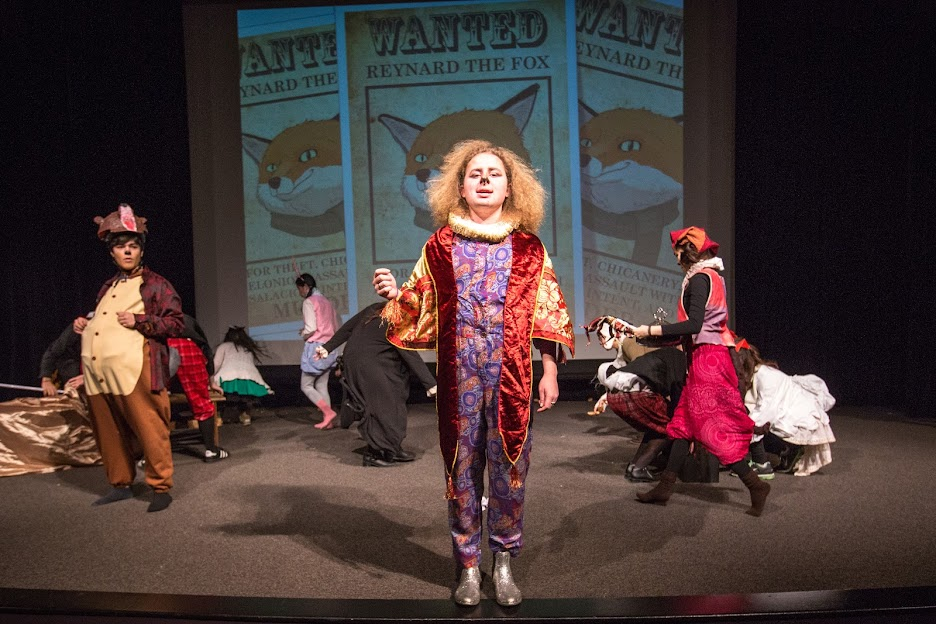 Staging Reynard the Fox during a recent Theatre Production Workshop