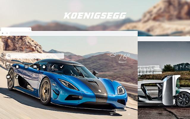 Koenigsegg - Super Cars HD Theme Wallpapers