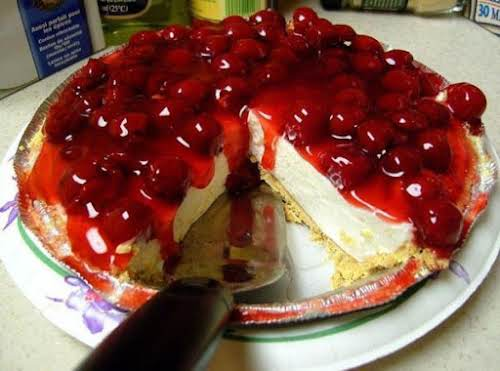 "Easiest No Bake Cheesecake ""I make this a lot. Probably my favorite..."