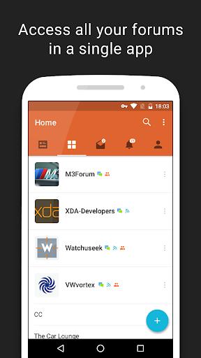 Tapatalk Pro - 100,000+ Forums  screenshots 2