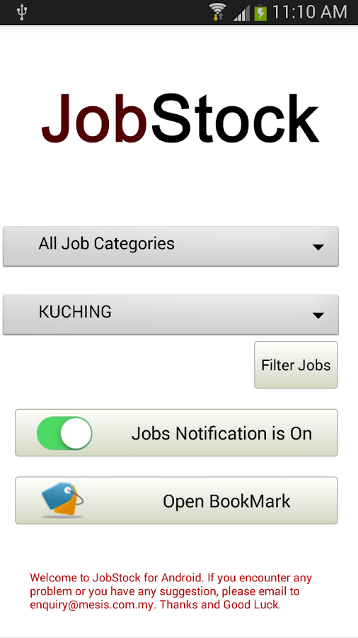 JobStock For Android- screenshot