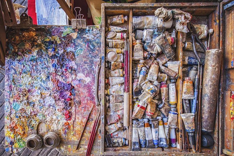 Disordine colorato di Alessandro Zaniboni Ph