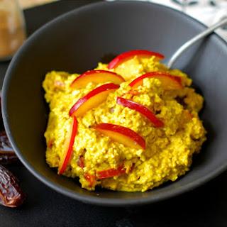 Turmeric Plum Porridge [Vegan, Gluten-Free]
